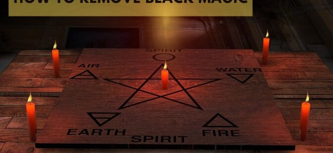 How to remove black magic